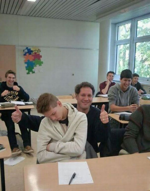 Hilarious Teachers Who Perfectly Nailed It -16