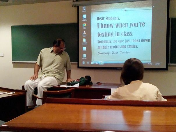 Hilarious Teachers Who Perfectly Nailed It -8