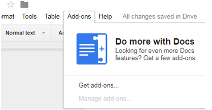 how to change top margins in google docs